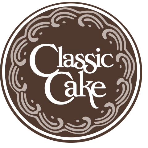 classic cake logo web