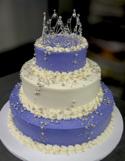 Purple & White Princess