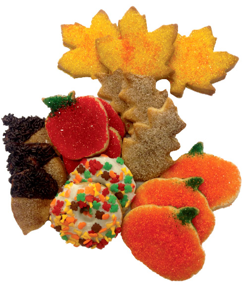 fall cookie cut out